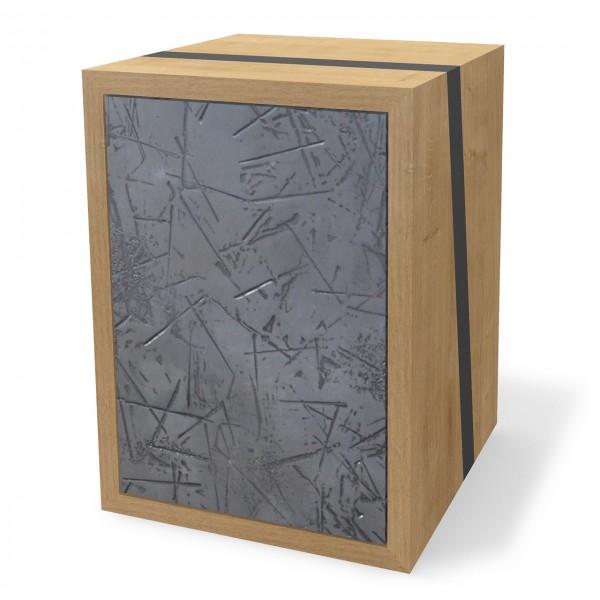 Modul mit Türen, Holz & Zink