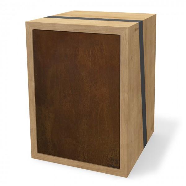 Modul mit Türen, Holz & Rost
